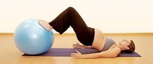 Pilates na gravidez é possível fazer.
